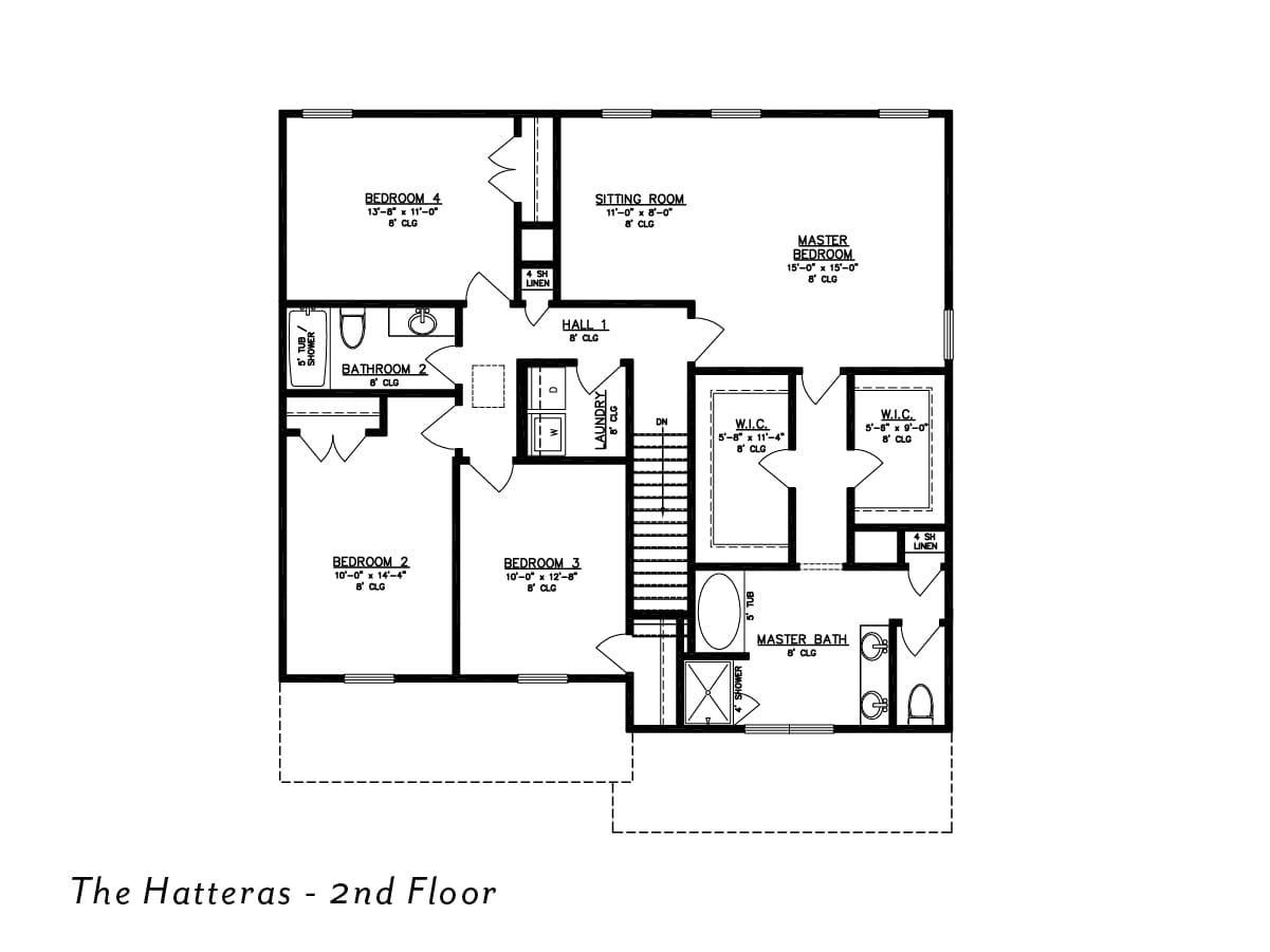 The Hatteras 2nd floor