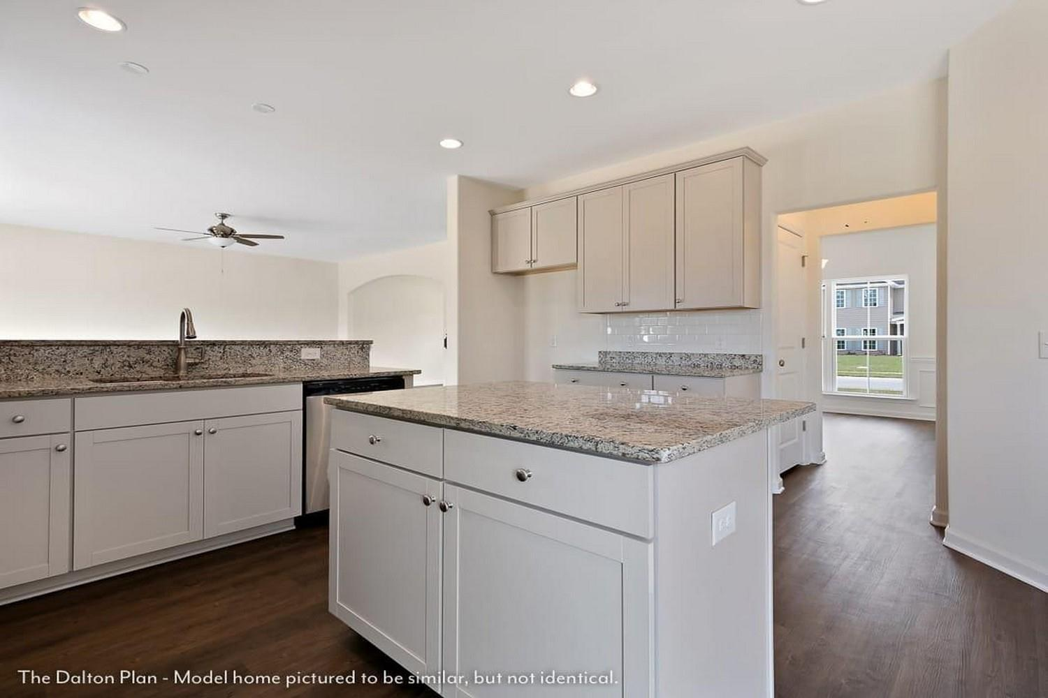 Kitchen featured in The Dalton By Lamar Smith Homes in Savannah, GA