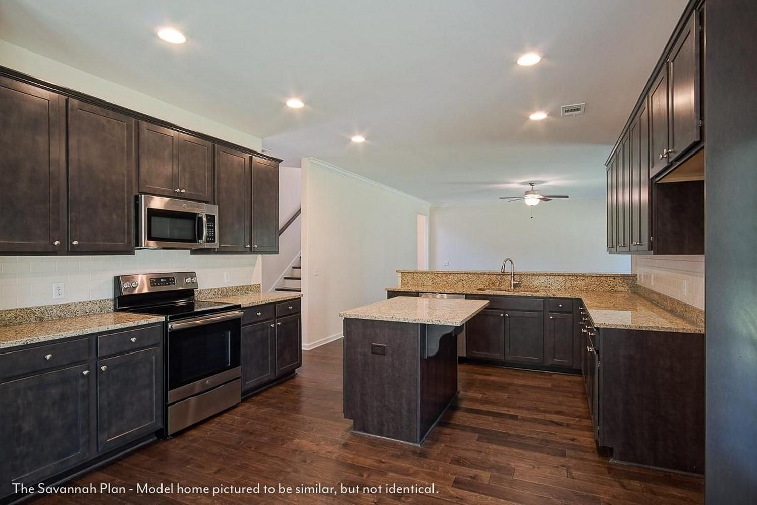 Kitchen featured in The Savannah By Smith Family Homes in Savannah, GA