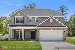 The Butler - Covington Pointe: Brunswick, Georgia - Lamar Smith Homes