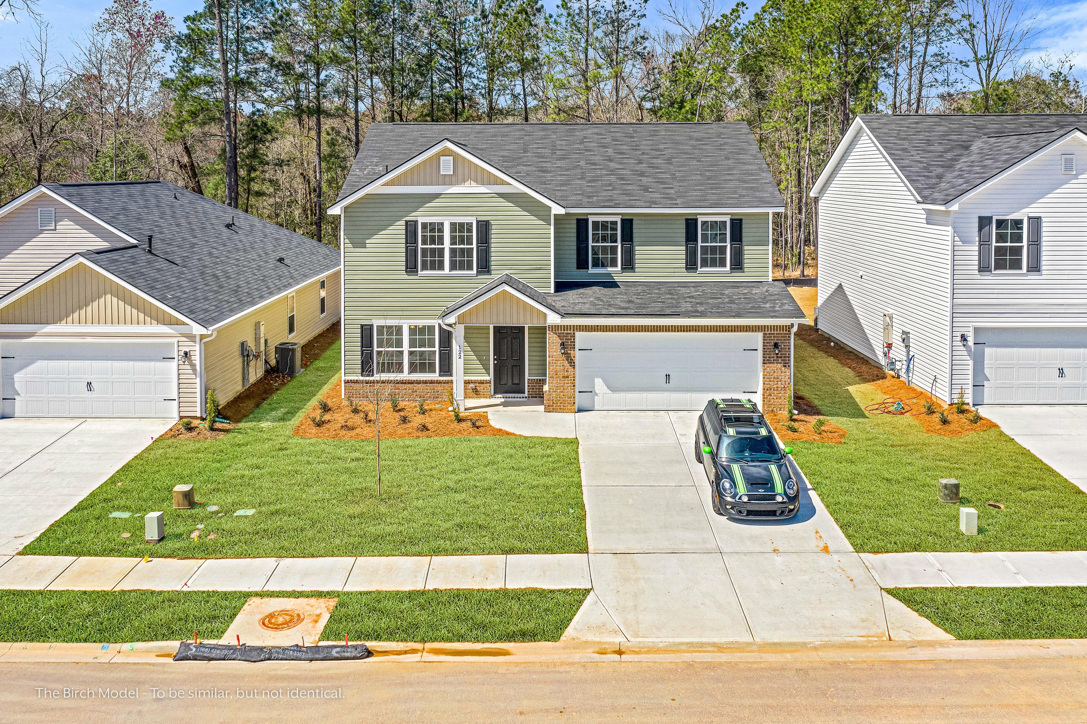 Exterior featured in The Birch By Smith Family Homes in Hilton Head, SC