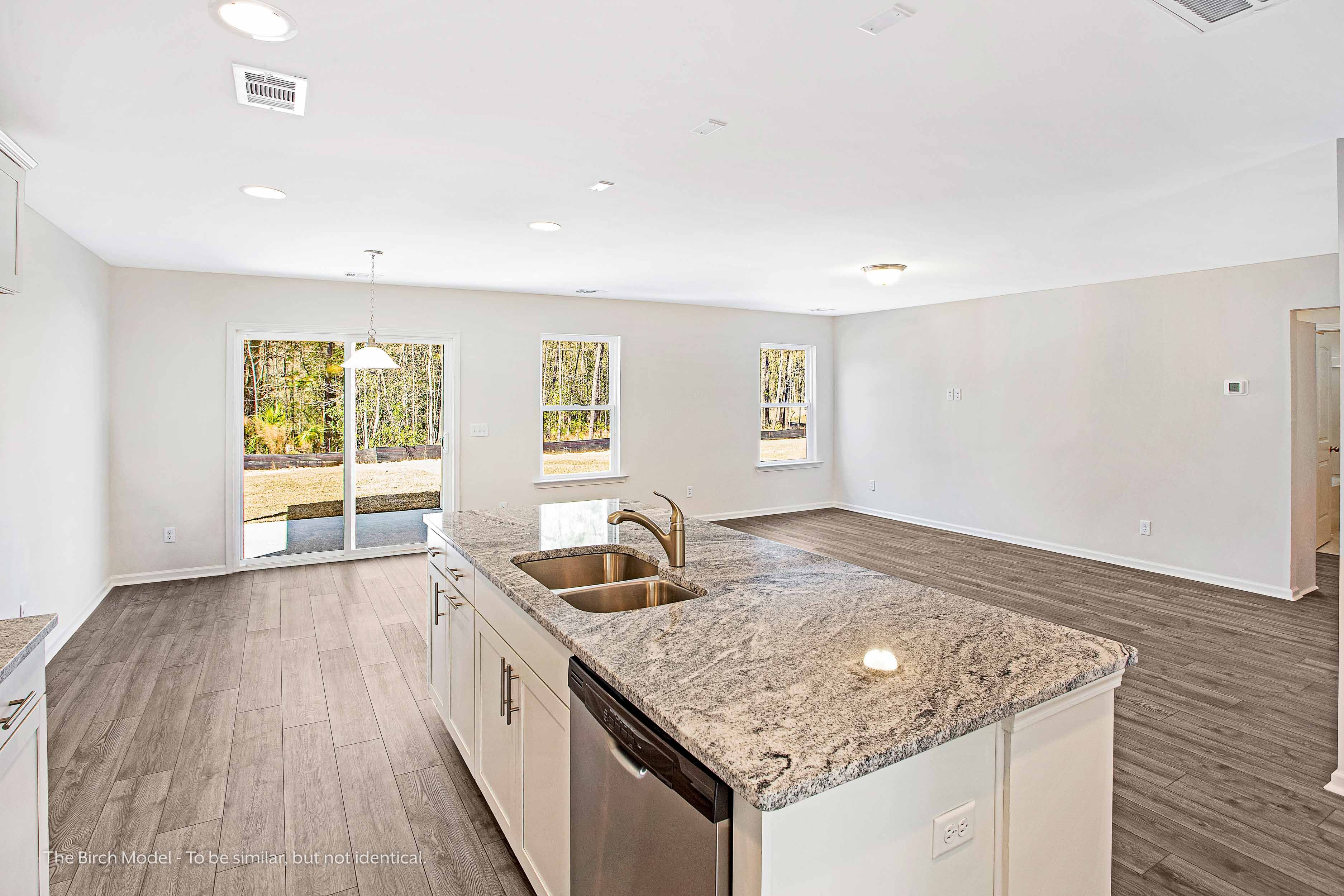 Kitchen featured in The Birch By Smith Family Homes in Hilton Head, SC