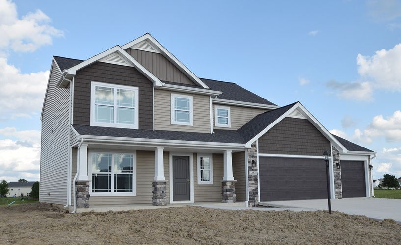 Kitchen featured in the Lot 25 By Lancia Homes in Fort Wayne, IN
