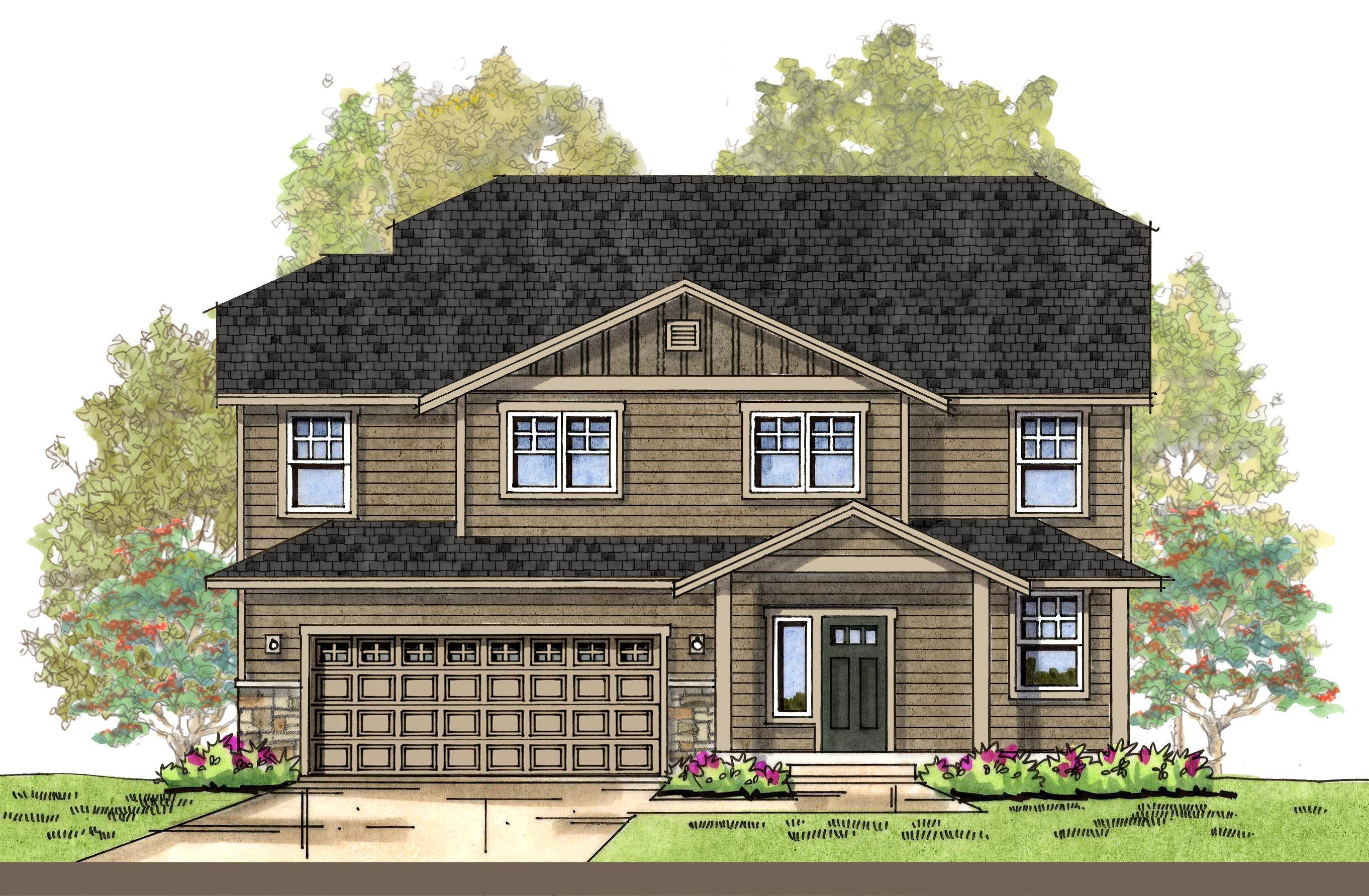 Exterior featured in the CC Padilla By Landed Gentry Homes in Bellingham, WA