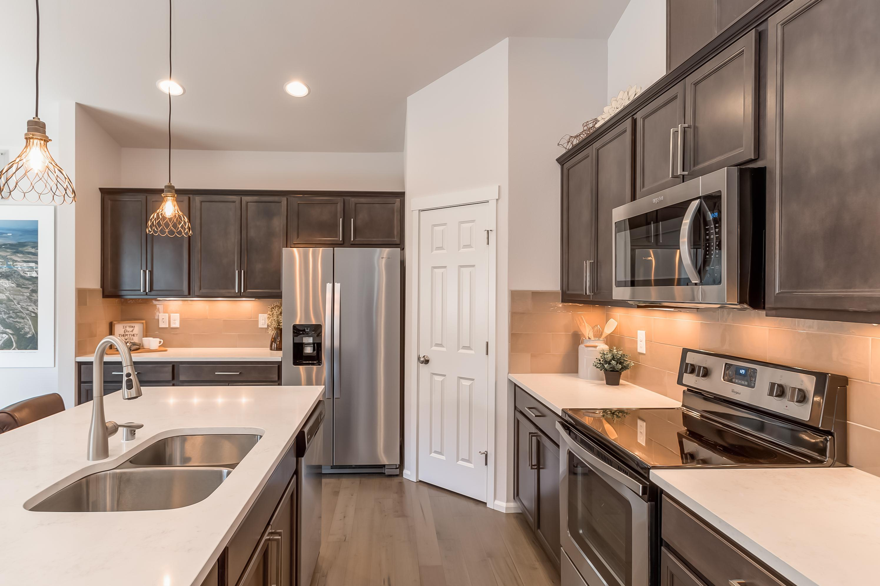 Kitchen featured in the CC Sinclair By Landed Gentry Homes in Bellingham, WA