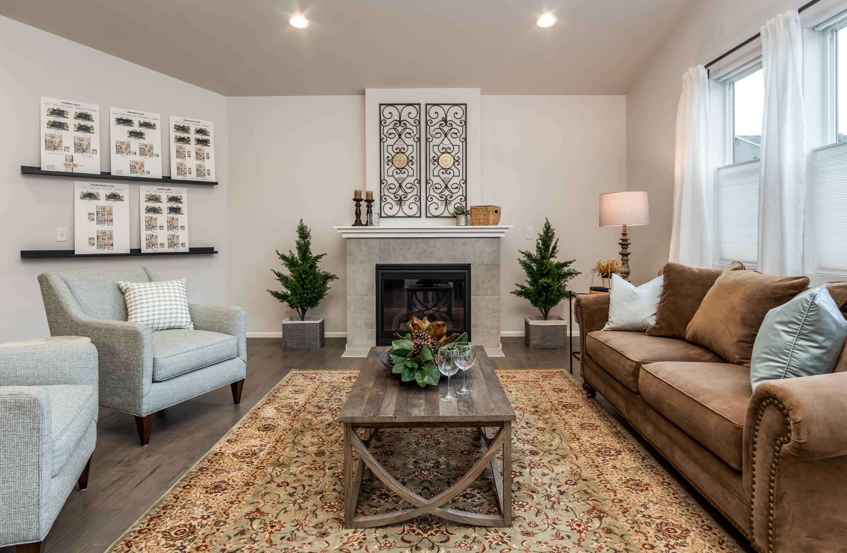 Living Area featured in the CC Sinclair By Landed Gentry Homes in Bellingham, WA