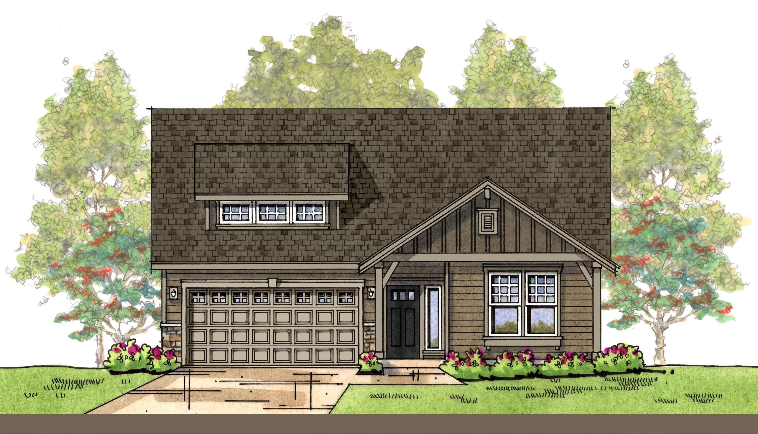 Exterior featured in the CC Birch By Landed Gentry Homes in Bellingham, WA