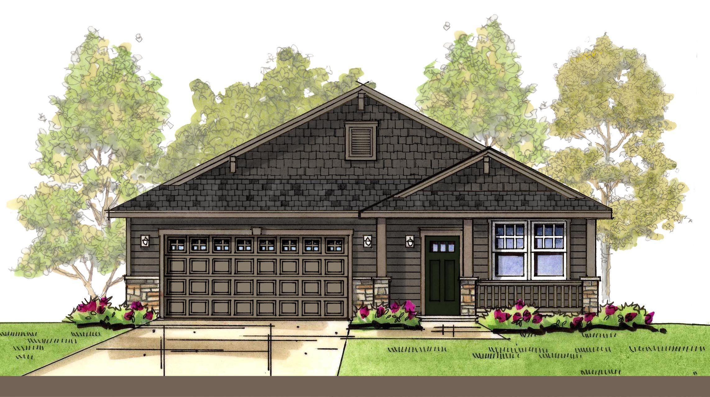 Exterior featured in the CC Laurel By Landed Gentry Homes in Bellingham, WA