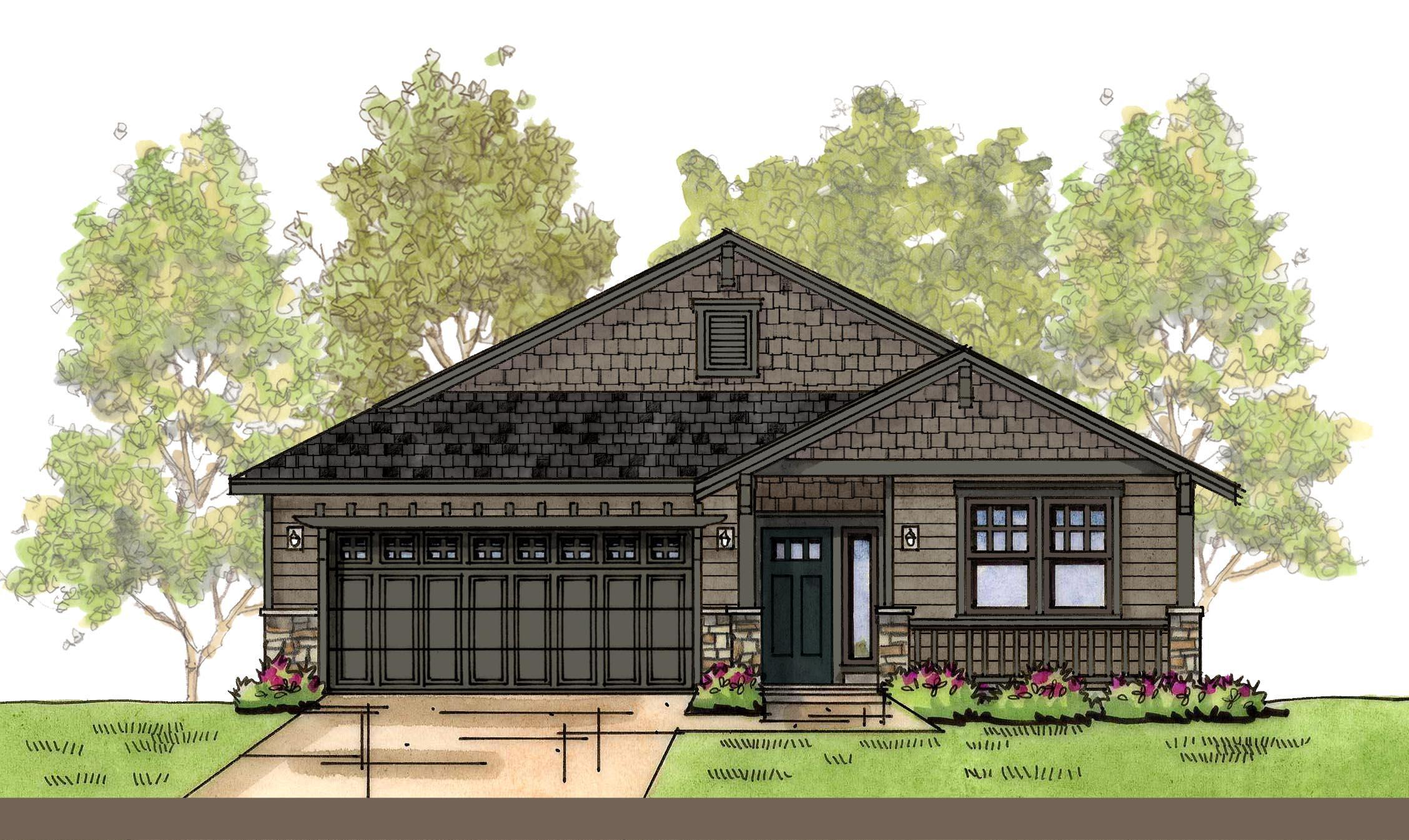 Exterior featured in the WP Madrona By Landed Gentry Homes in Bellingham, WA