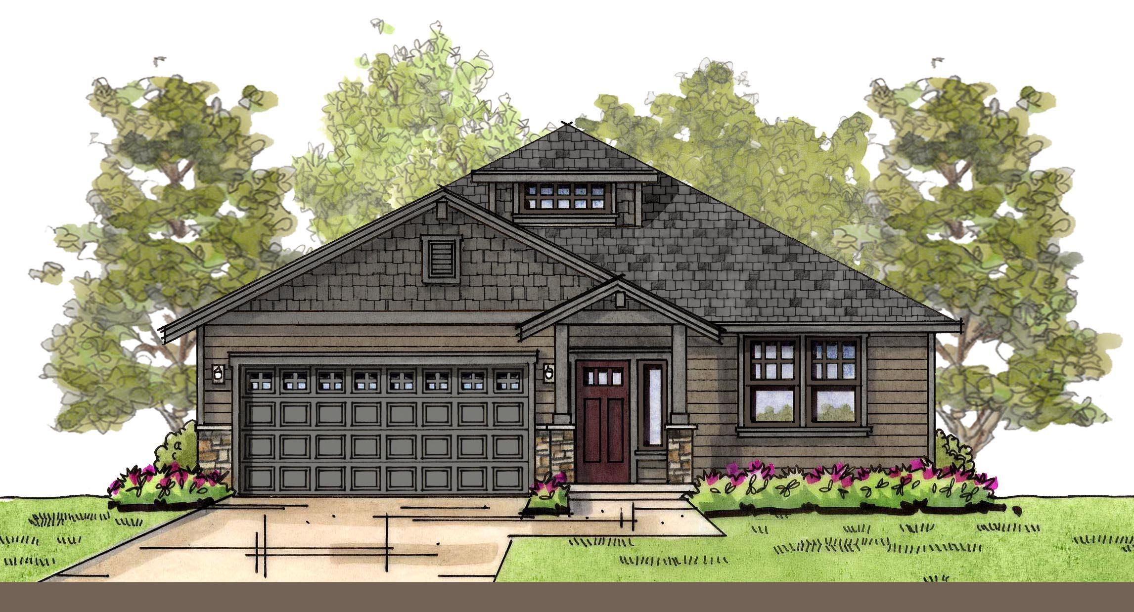Exterior featured in the WP Madison By Landed Gentry Homes in Bellingham, WA