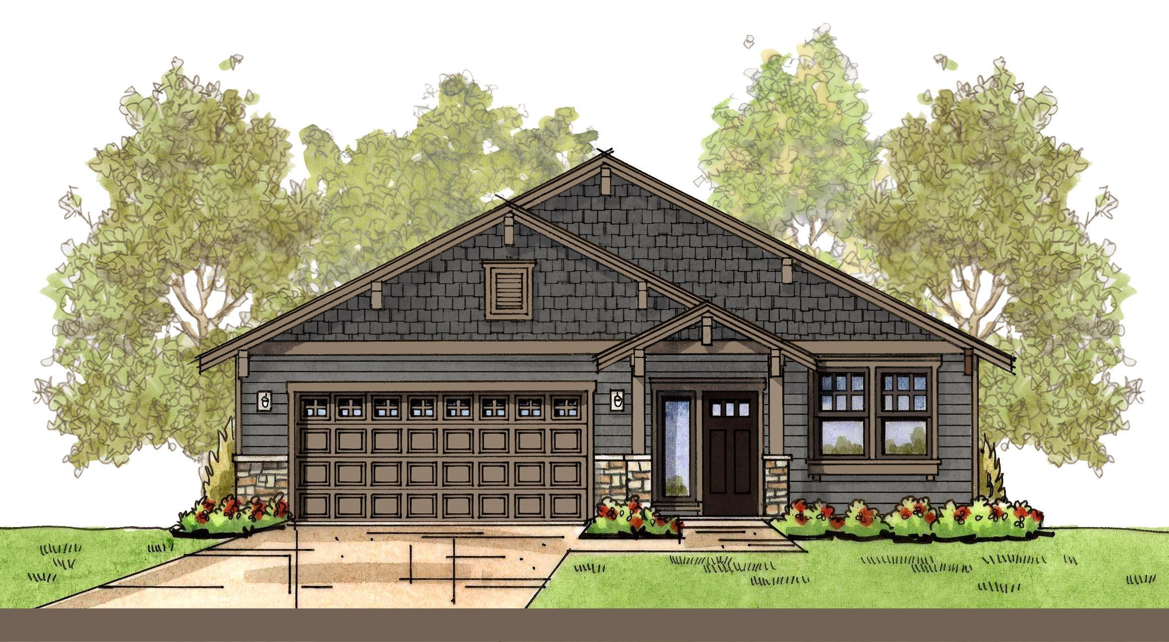 Exterior featured in the WP Laurel By Landed Gentry Homes in Bellingham, WA