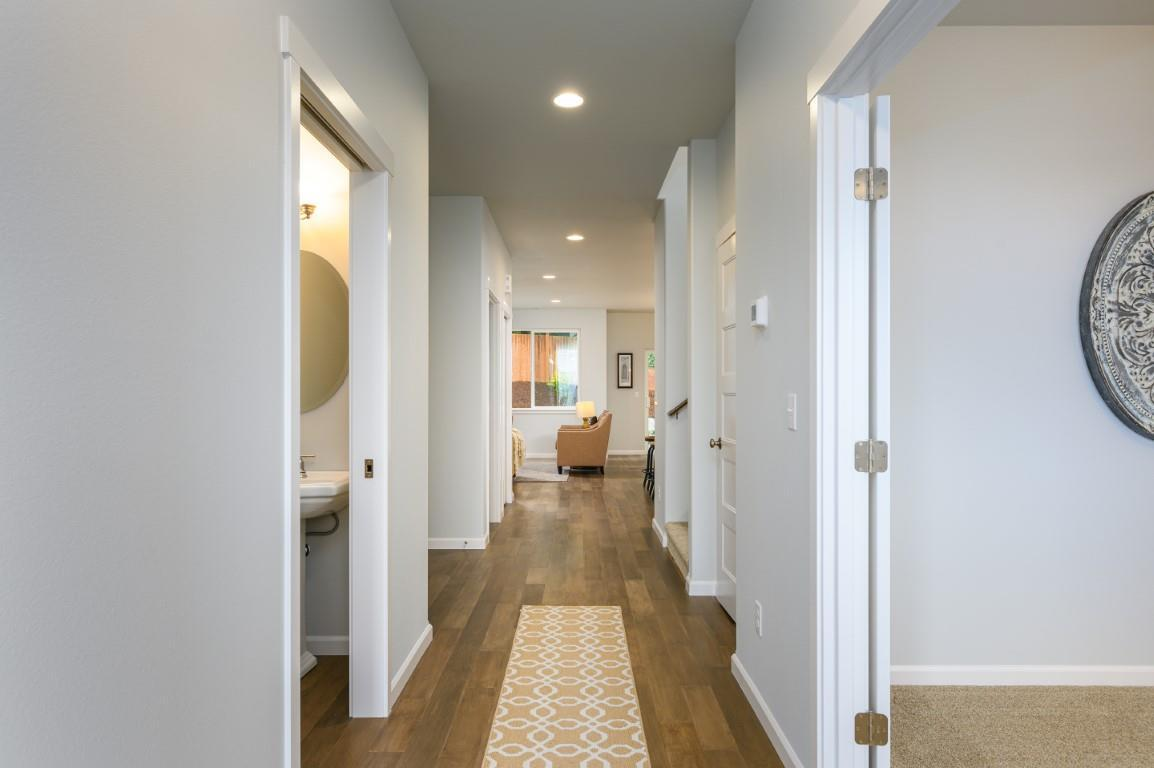 Living Area featured in the CC Garden By Landed Gentry Homes in Bellingham, WA
