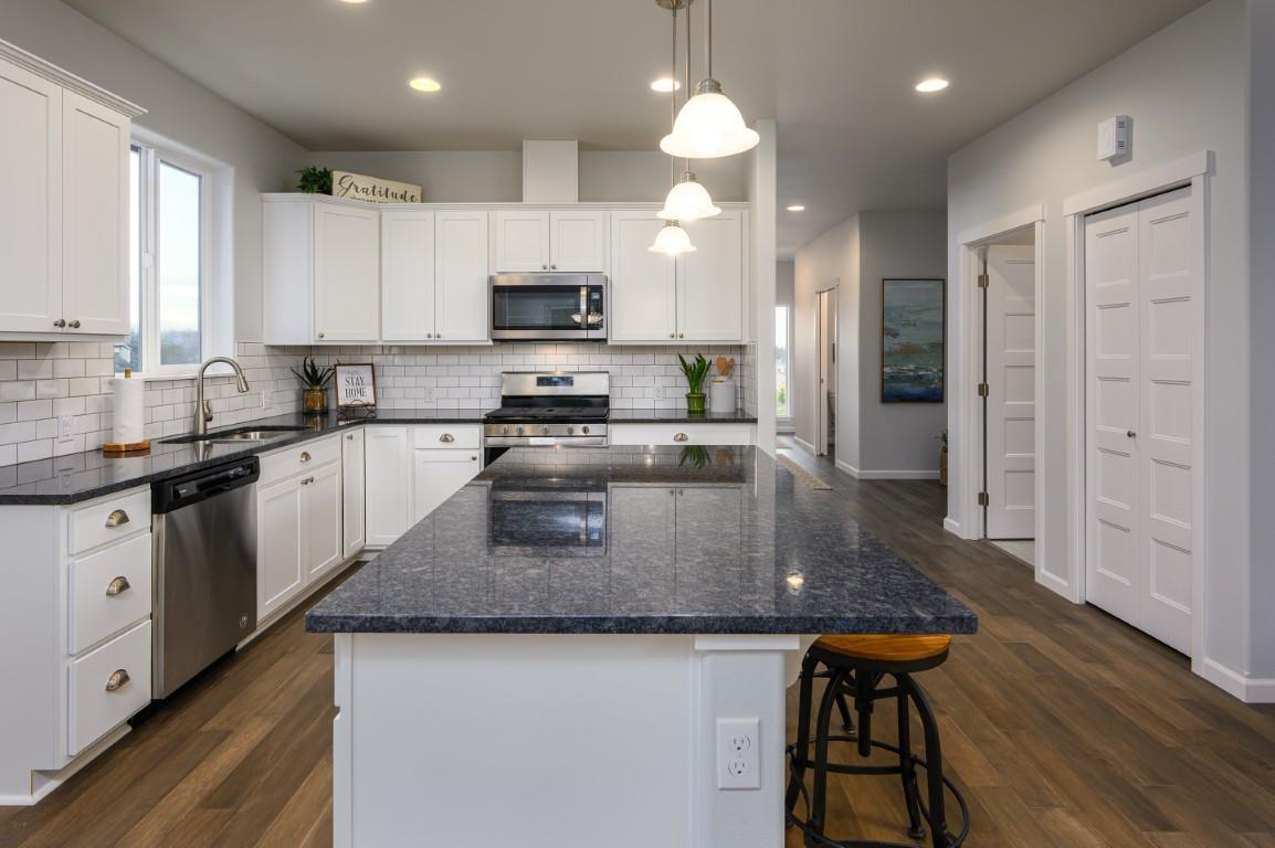 Kitchen featured in the CC Garden By Landed Gentry Homes in Bellingham, WA