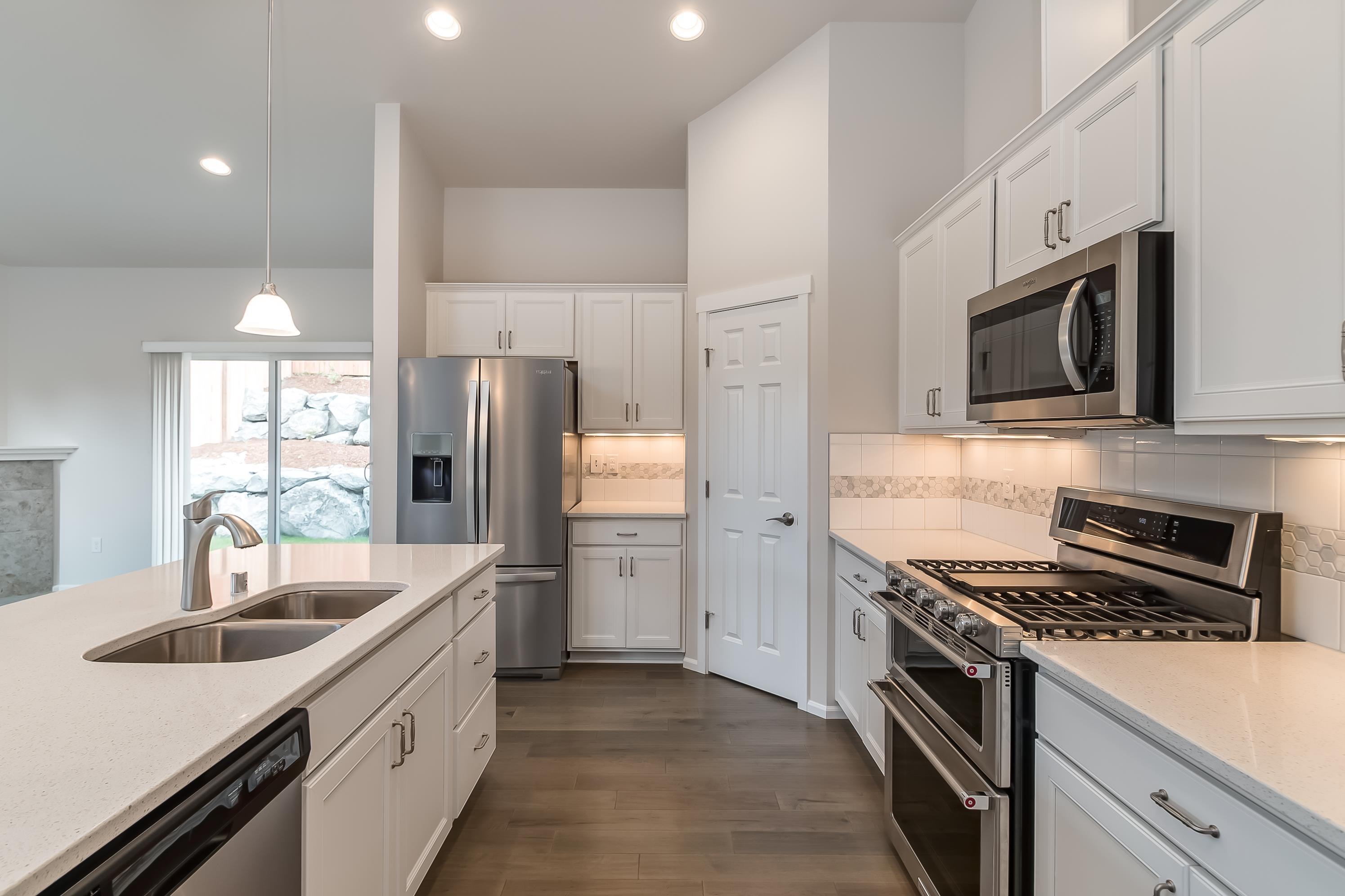 Kitchen featured in the CC Laurel By Landed Gentry Homes in Bellingham, WA