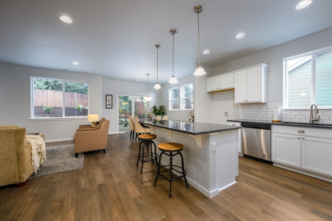 Kitchen featured in the WP Garden By Landed Gentry Homes in Bellingham, WA