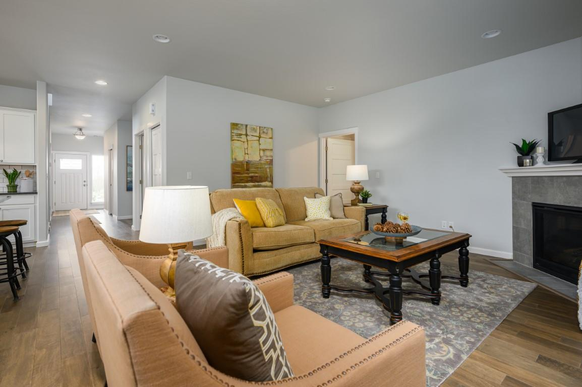 Living Area featured in the WP Garden By Landed Gentry Homes in Bellingham, WA