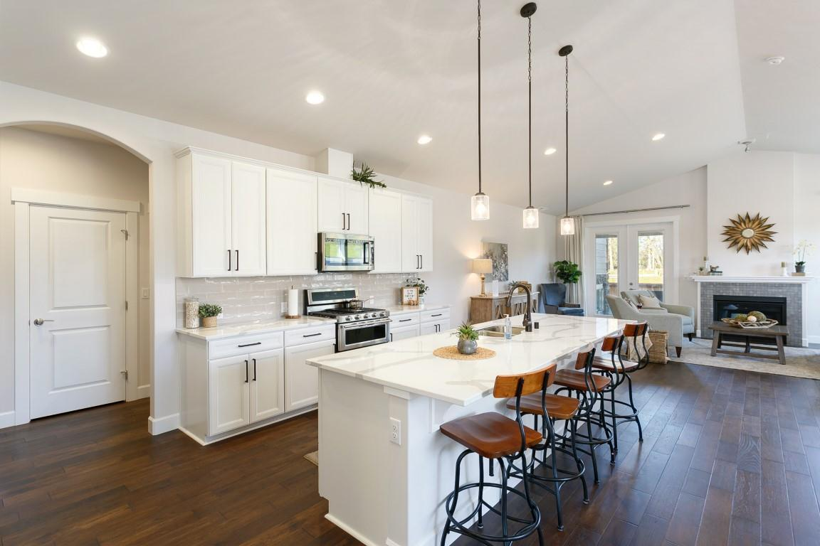Kitchen featured in the WP Madrona By Landed Gentry Homes in Bellingham, WA