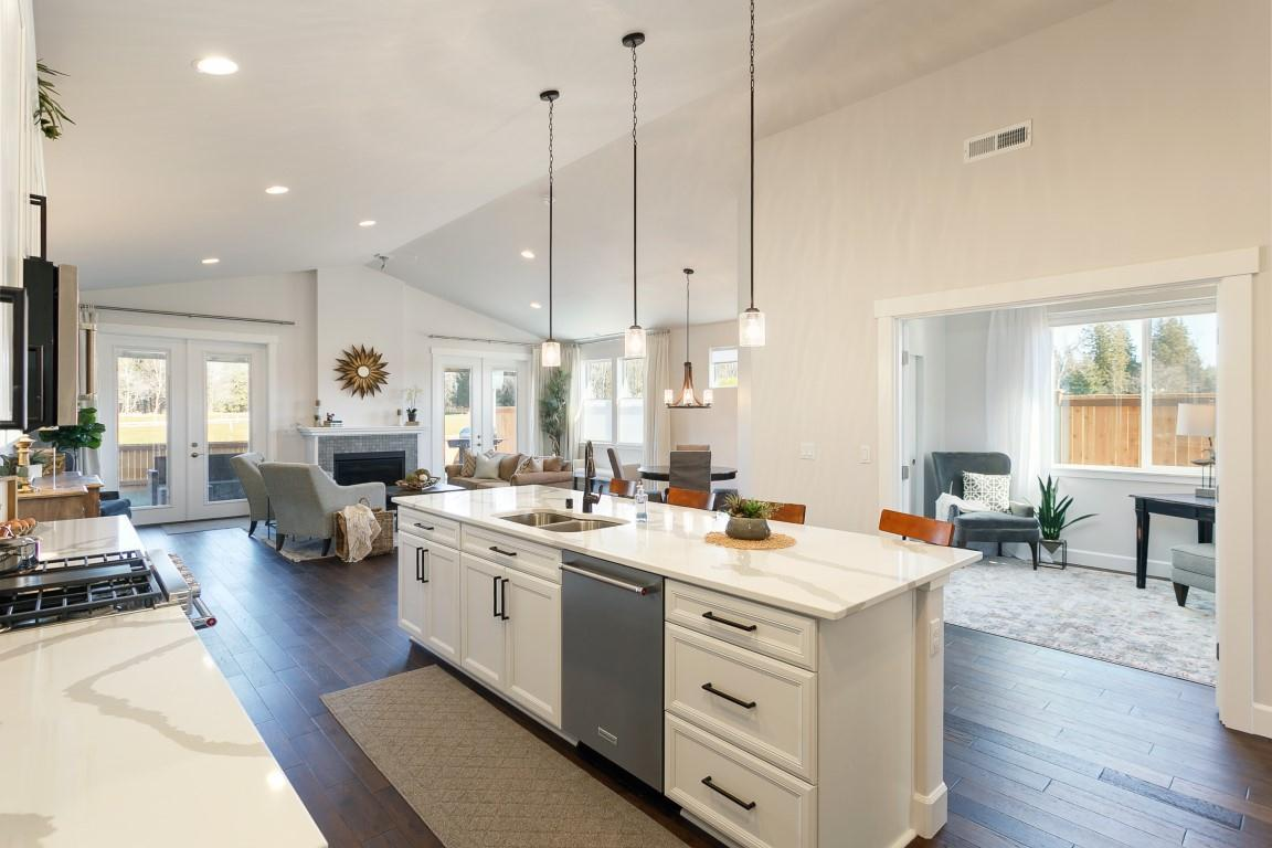 Living Area featured in the WP Madrona By Landed Gentry Homes in Bellingham, WA