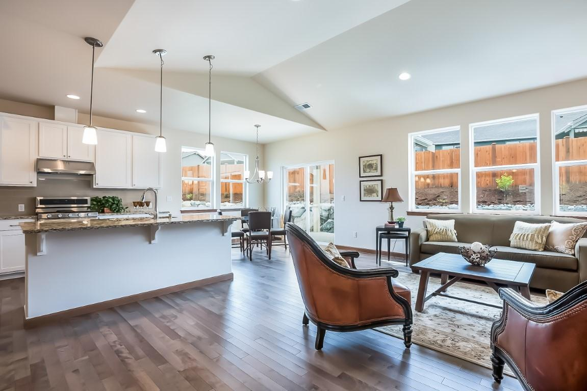 Living Area featured in the WP Timberland By Landed Gentry Homes in Bellingham, WA