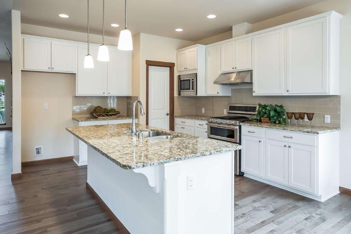 Kitchen featured in the WP Timberland By Landed Gentry Homes in Bellingham, WA