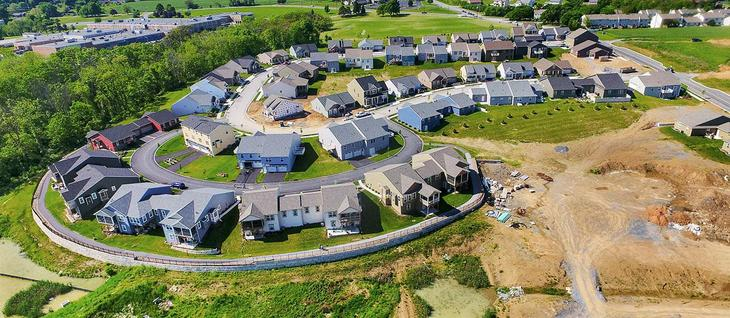 Union Station New Home Community in Harrisburg PA