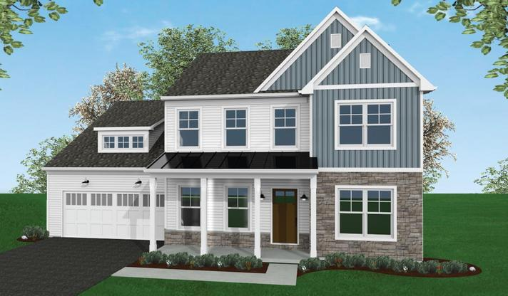 The Hadley Home Plan in Mechanicsburg PA
