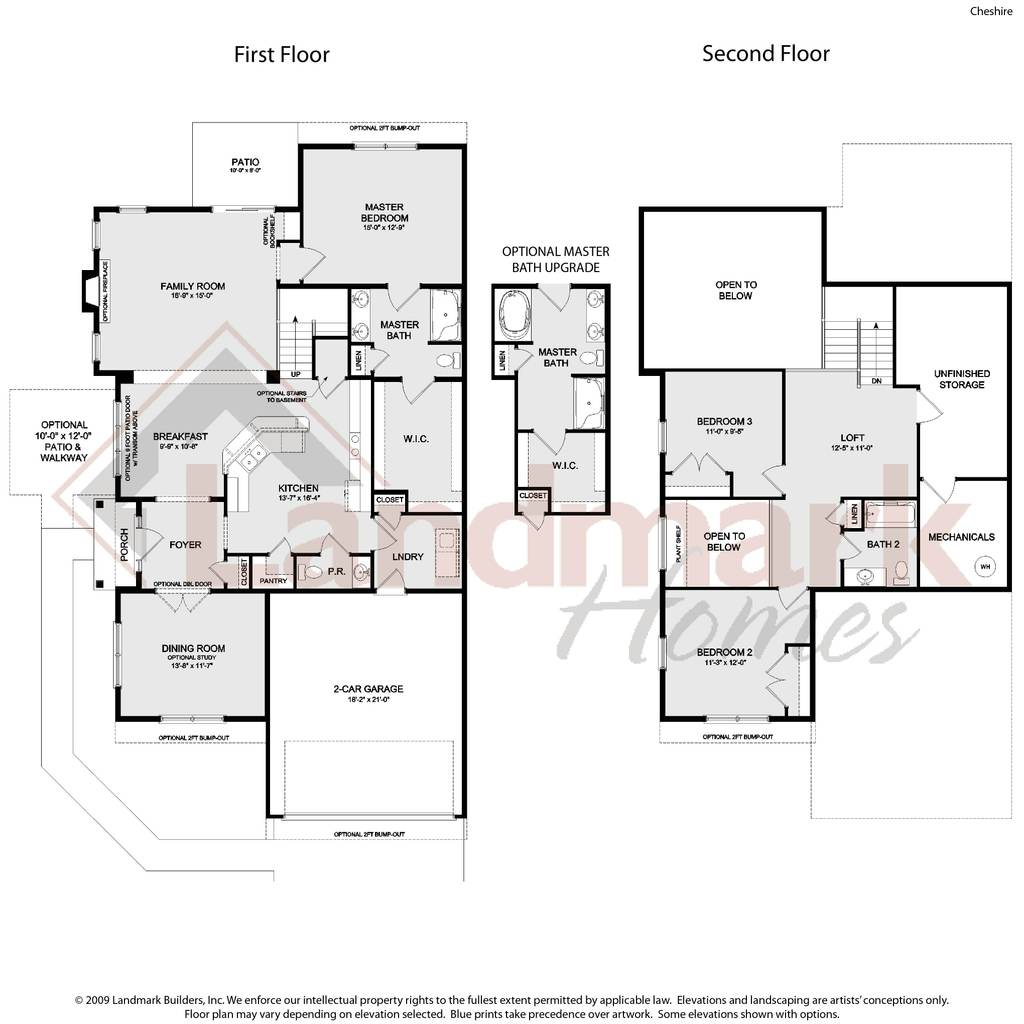 Cheshire home plan by landmark homes in available plans for Landmark home designs