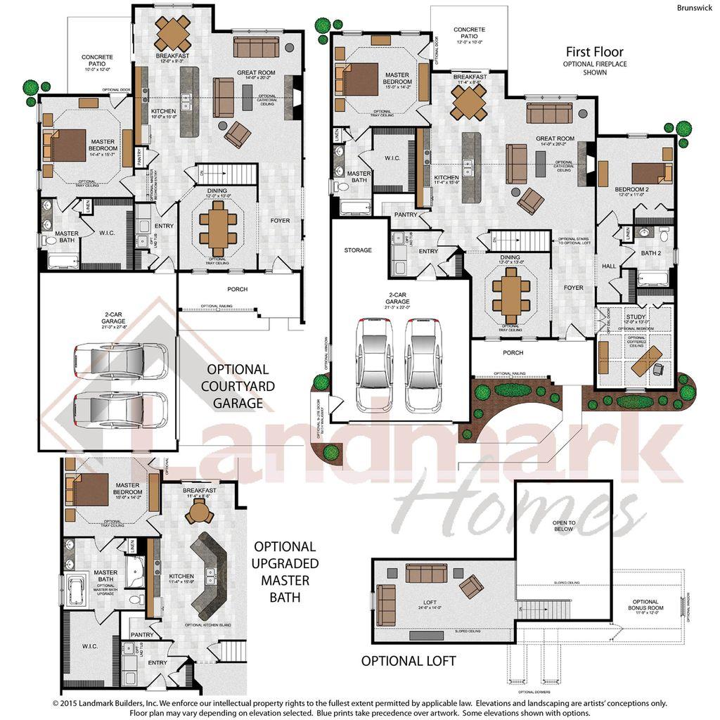 Brunswick Floorplan