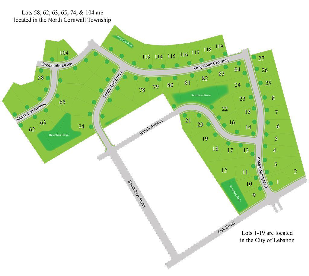 Greystone Crossing Site Plan