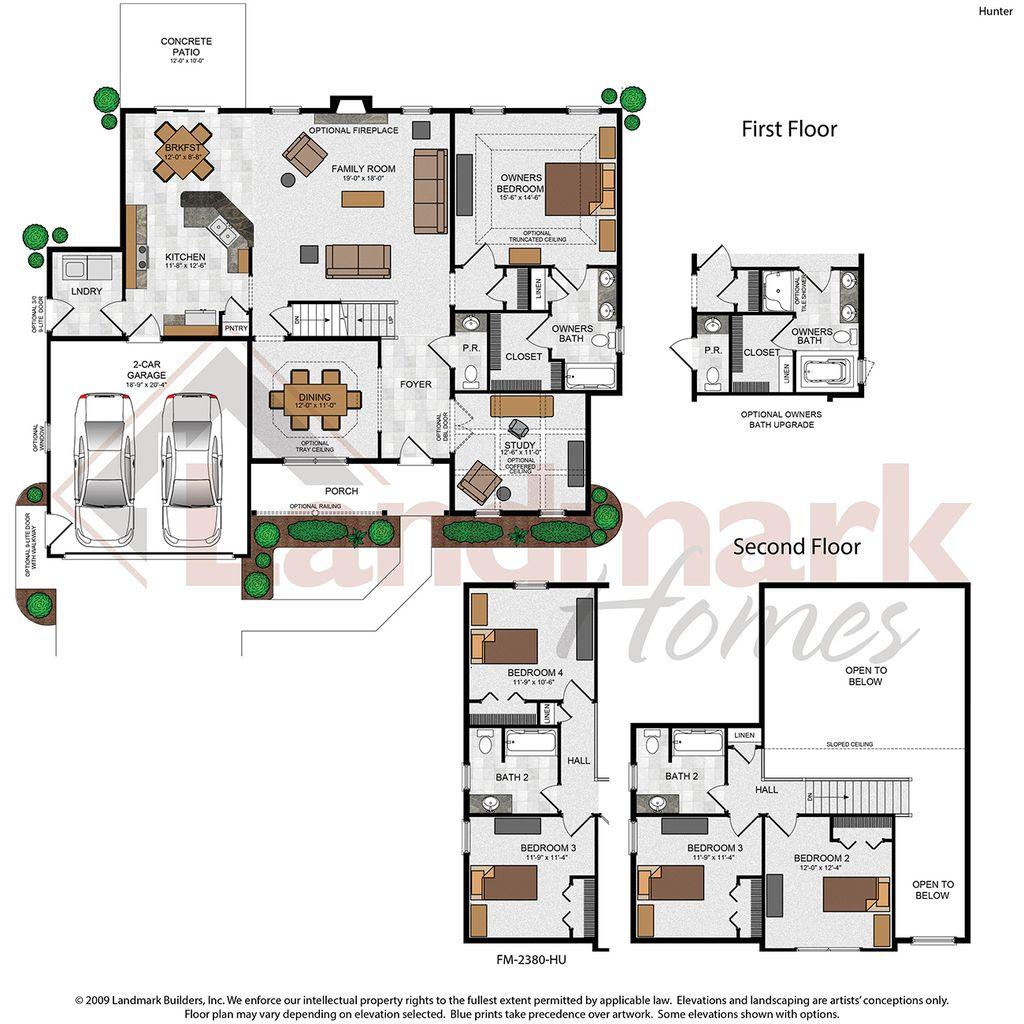 Hunter Home Plan By Landmark Homes In Stoney Pointe