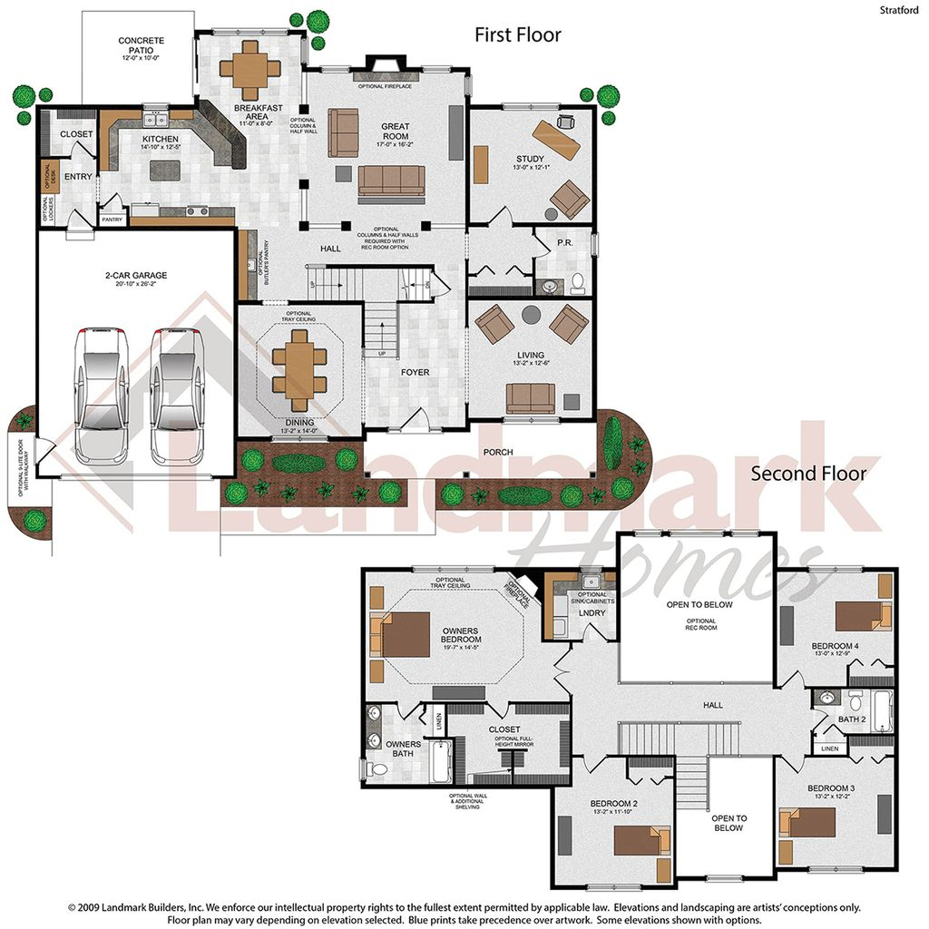 Stratford Floor Plan