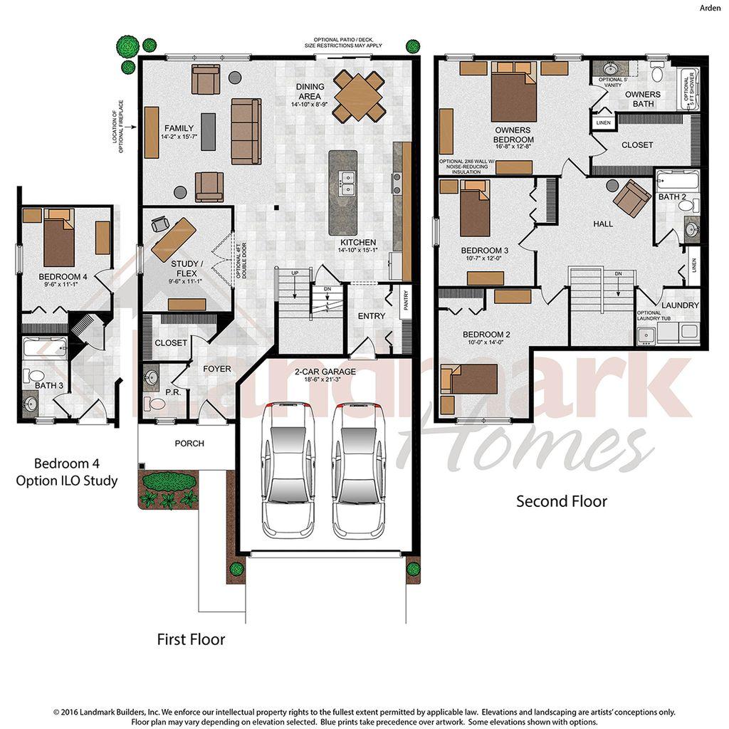 Arden Townhome Floor Plan