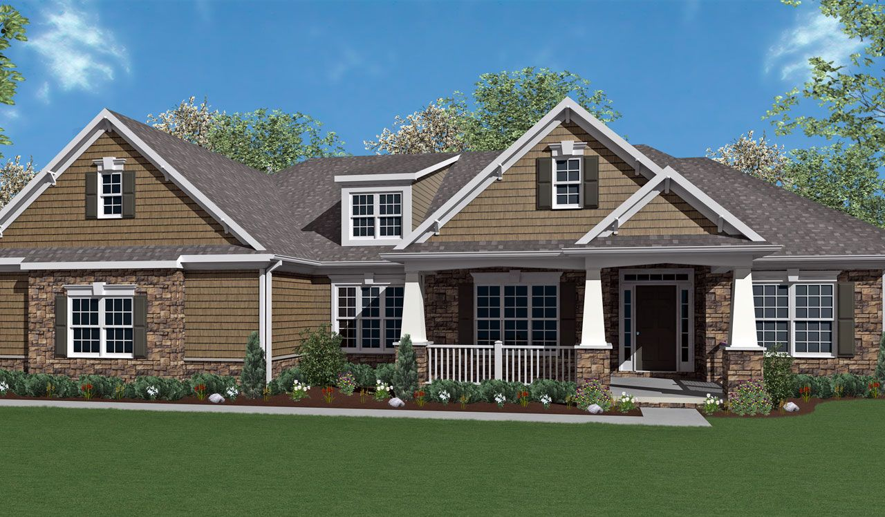 Bridgemont home plan by landmark homes in available plans for Landmark home designs