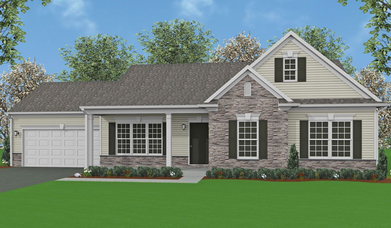 Glenville home plan by landmark homes in available plans for Landmark home plans