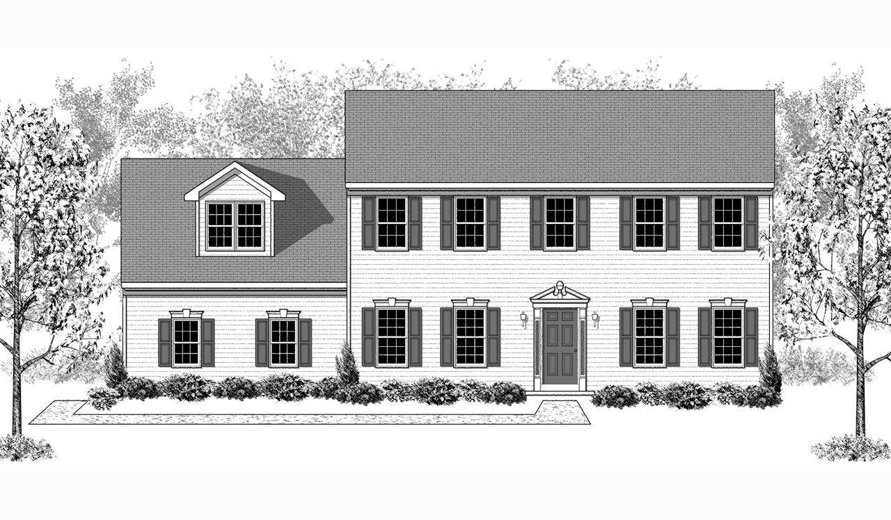 Oakmont home plan by landmark homes in greystone crossing for Oakmont home builders
