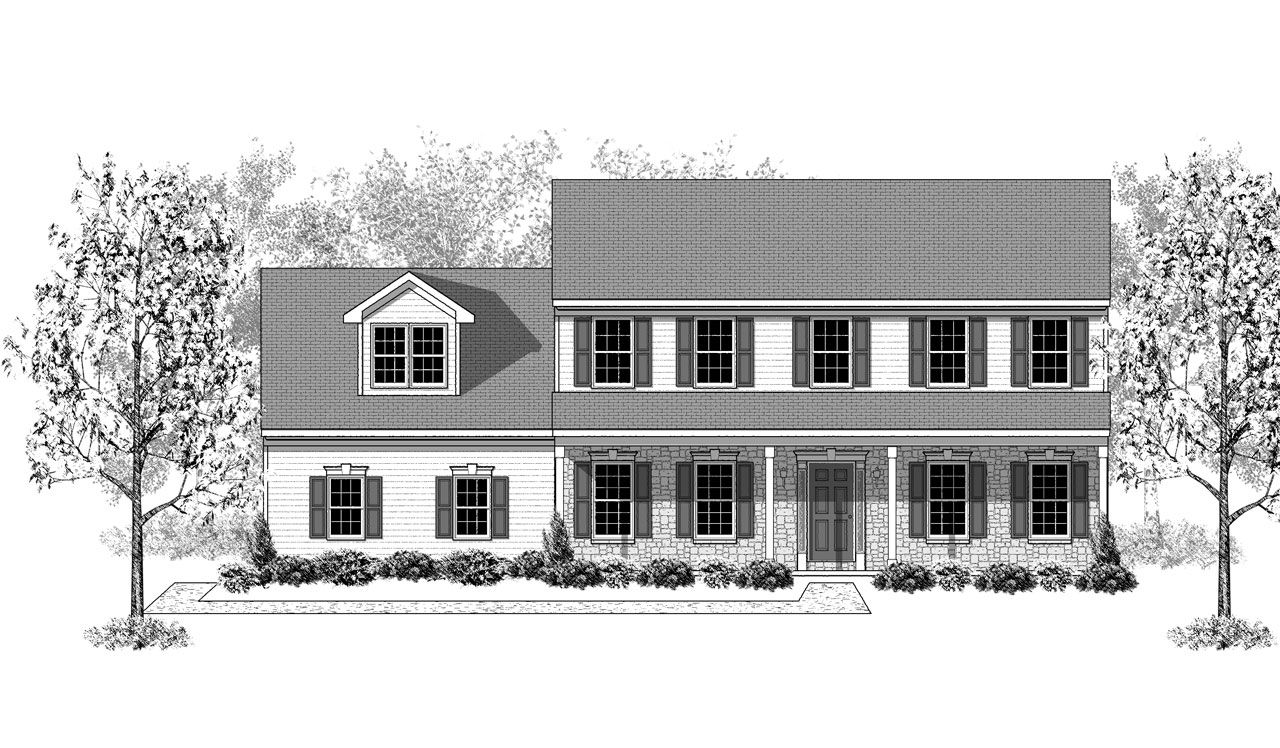 Oakmont Home Plan By Landmark Homes In Greystone Crossing