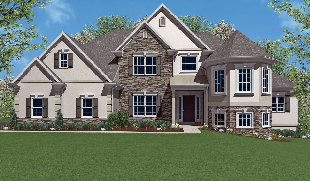 Westminster home plan by landmark homes in available plans for Landmark home designs