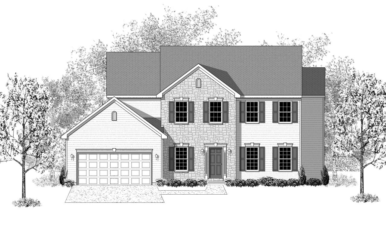 Glenwood home plan by landmark homes in available plans for Glenwood house