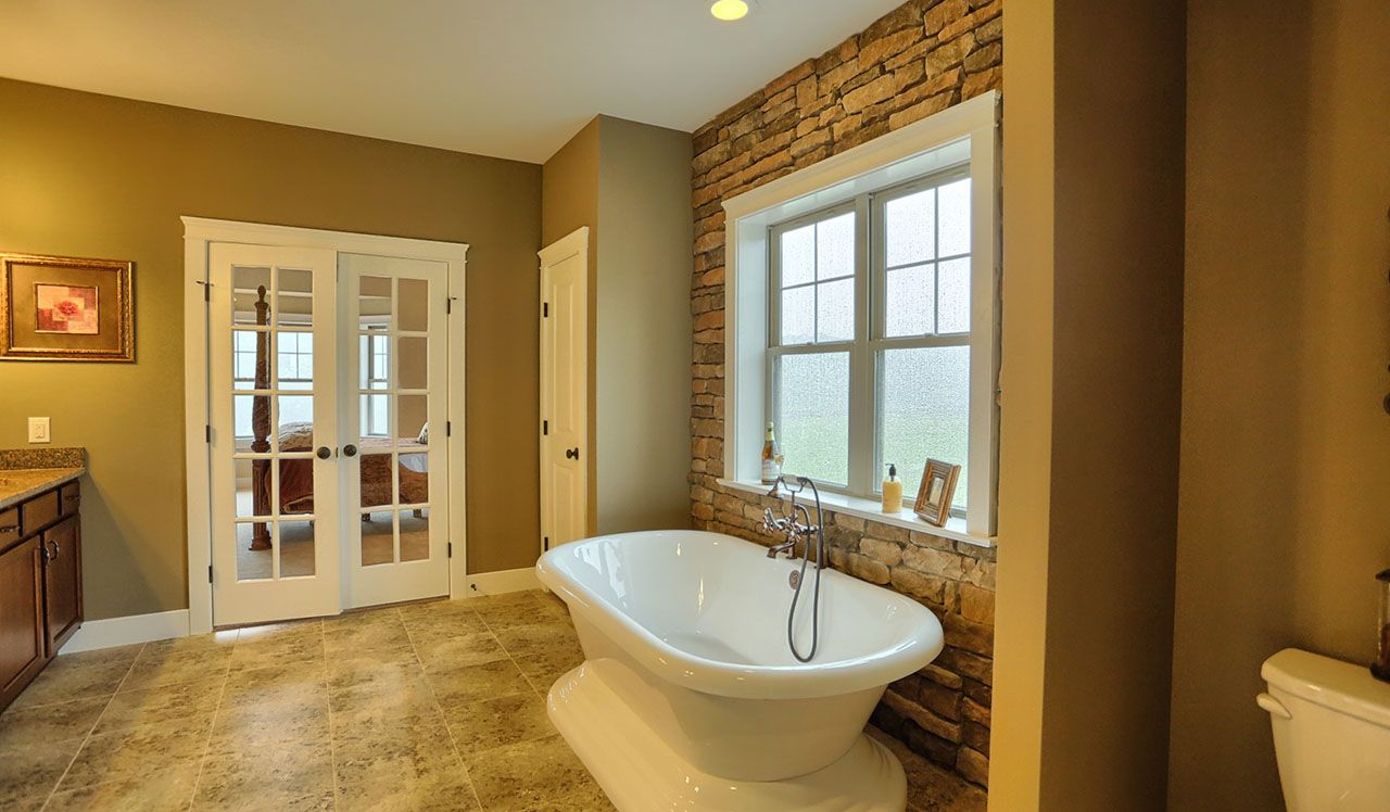 Ellington Model Master Bathroom