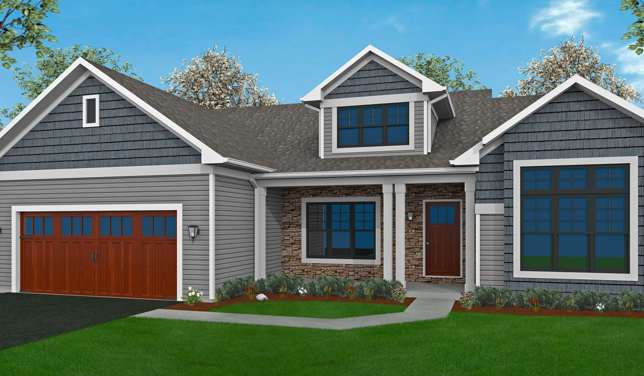 Brunswick home plan by landmark homes in stonecroft for Landmark home plans