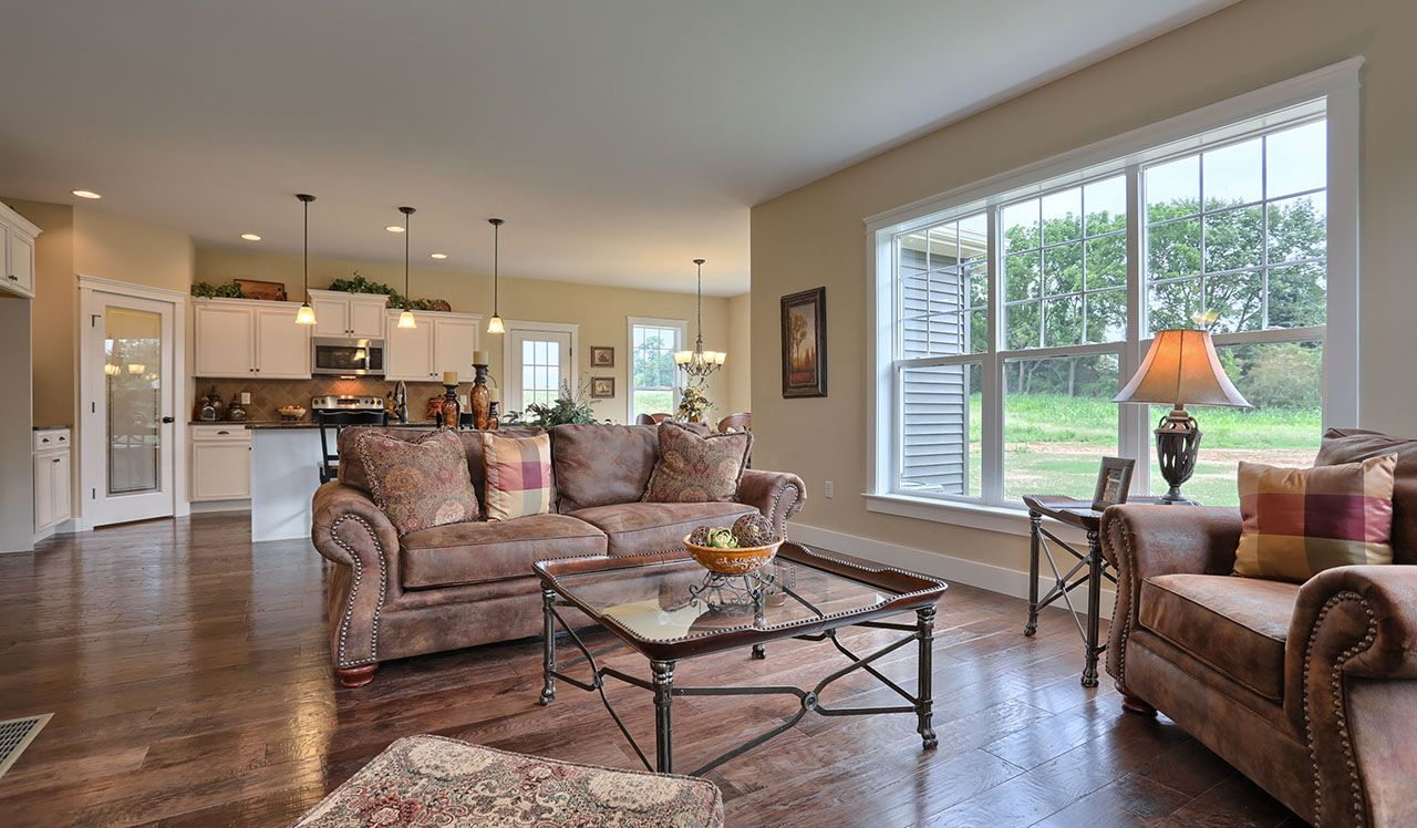 Darien Model Family Room