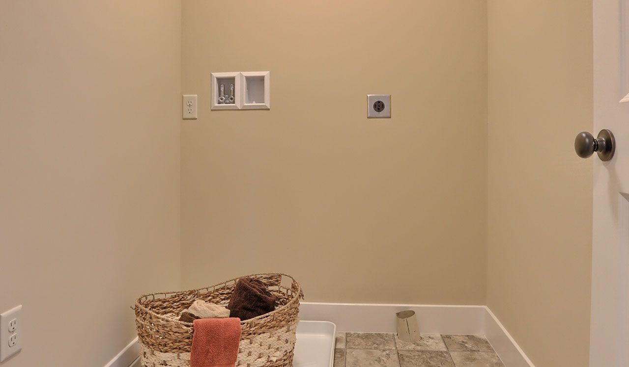 Darien Model Laundry Room