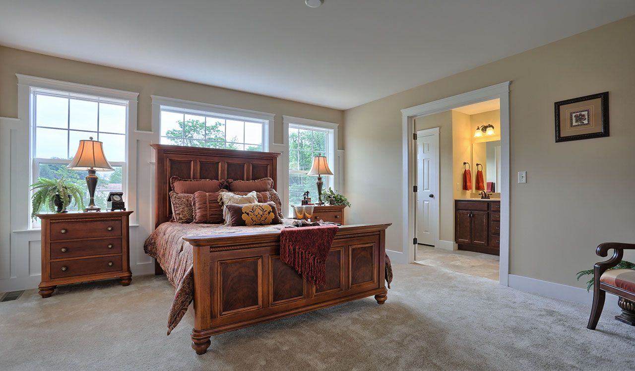 Darien Model Master Bedroom