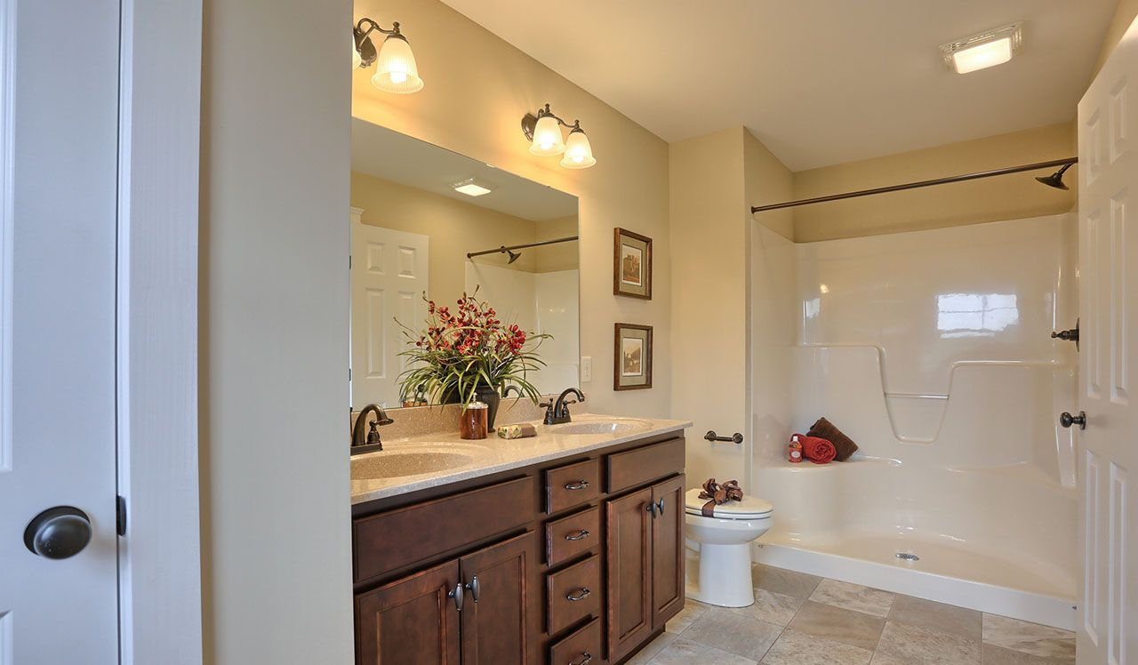 Darien Model Master Bathroom
