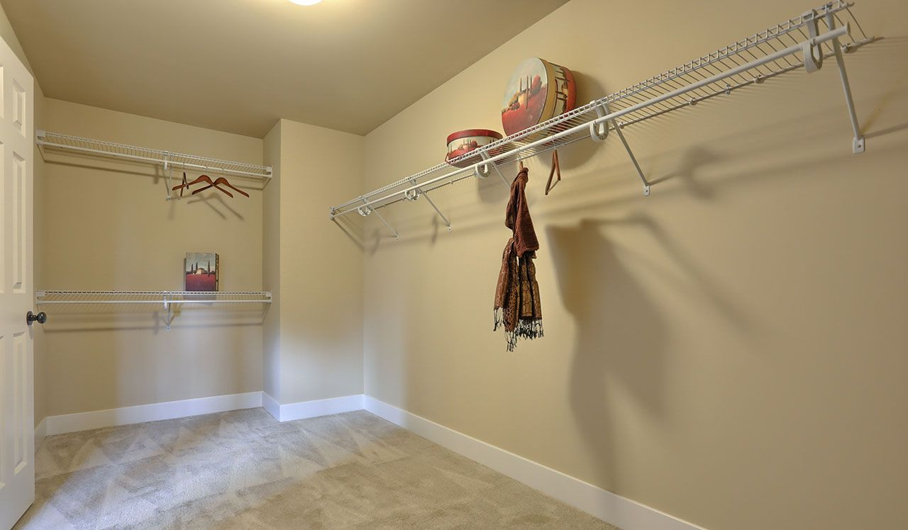 Darien Model Walk-in Closet