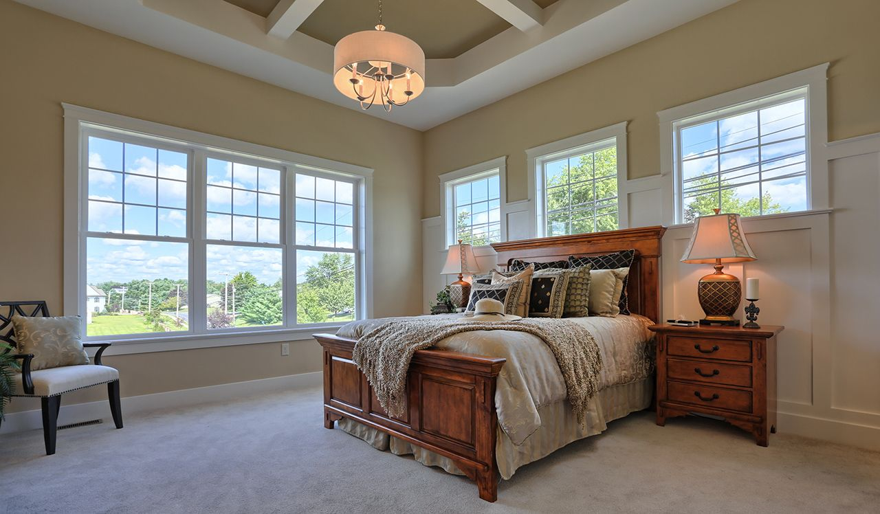 The Sullivan Model Master Bedroom