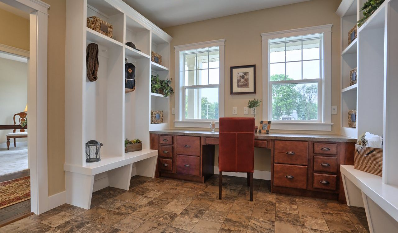 Darien Model Mudroom