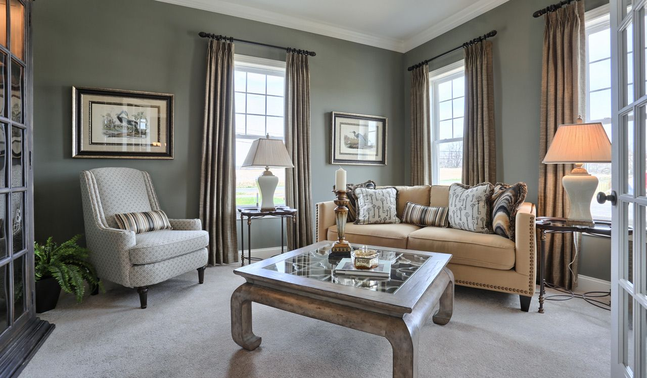Ellington Model Living Room