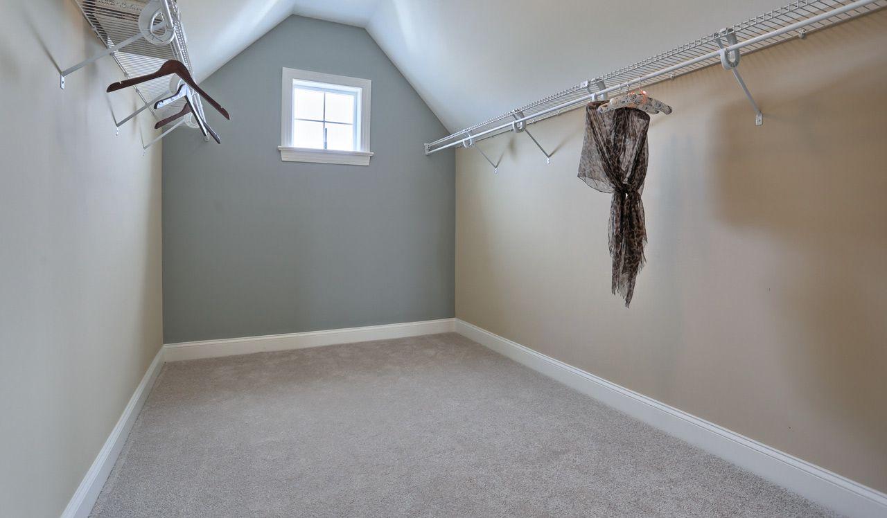 Ellington Model Owner's Suite Closet