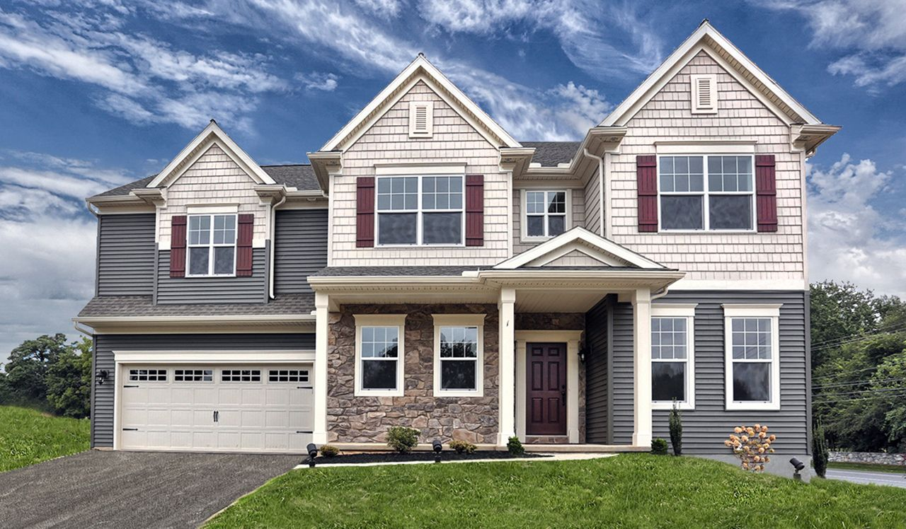 The Darien Model by Landmark Homes